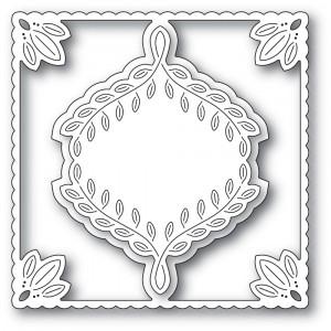 Poppy Stamps Stanzschablone - Leafy Ornament Frame - 25% RABATT
