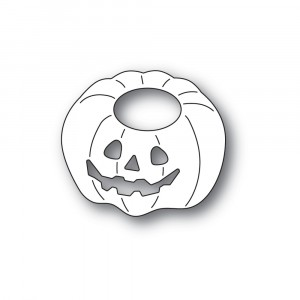 Poppy Stamps Stanzschablone - Happy Jack o Lantern