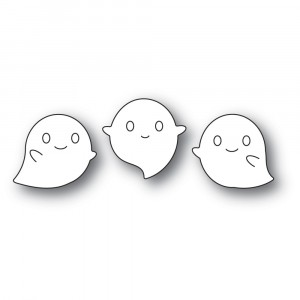 Poppy Stamps Stanzschablone - Squeaker Ghosts