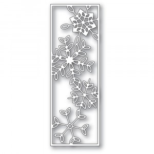 Poppy Stamps Stanzschablone - Dancing Snowflake Tile