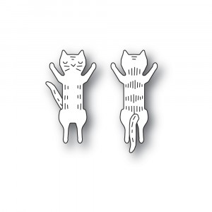 Poppy Stamps Stanzschablone - Whittle Jumping Kitty