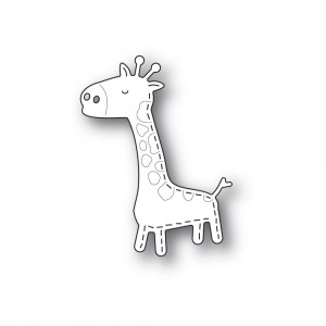 Poppy Stamps Stanzschablone - Whittle Giraffe