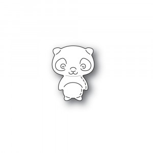 Poppy Stamps Stanzschablone - Whittle Panda