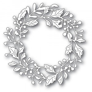 Poppy Stamps Stanzschablone - Adriana Wreath