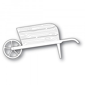 Poppy Stamps Stanzschablone - Country Garden Wheelbarrow