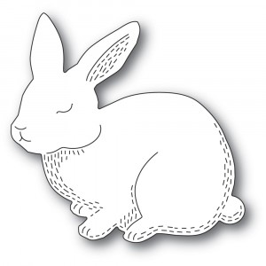 Poppy Stamps Stanzschablone - Whittle Cutie Rabbit