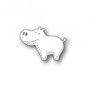 Poppy Stamps Stanzschablone - Whittle Happy Hippo