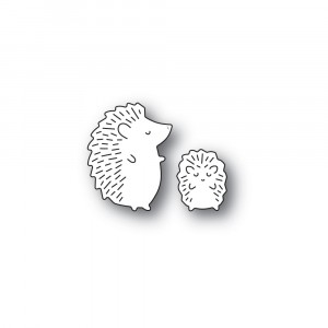 Poppy Stamps Stanzschablone - Whittle Hedgehog Duo