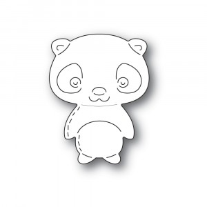 Poppy Stamps Stanzschablone - Whittle Giant Panda