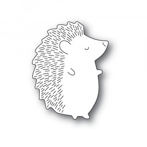 Poppy Stamps Stanzschablone - Big Hedgehog Right