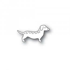 Poppy Stamps Stanzschablone - Whittle Dachshund