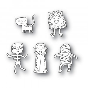 Poppy Stamps Stanzschablone - Whittle Monsters
