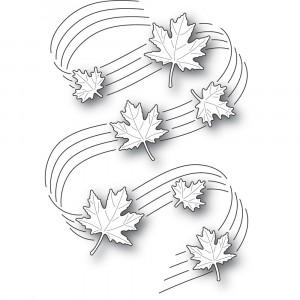 Poppy Stamps Stanzschablone - Maple Symphony