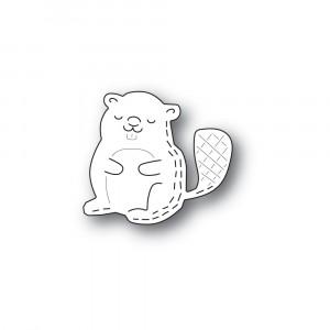 Poppy Stamps Stanzschablone - Whittle Beaver