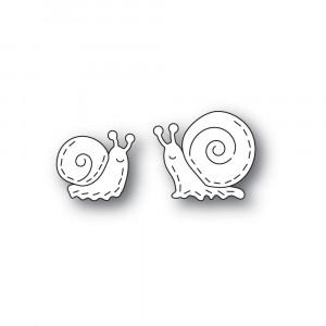Poppy Stamps Stanzschablone - Whittle Snails
