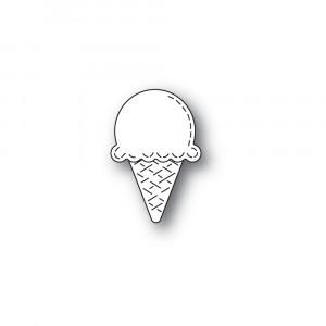 Poppy Stamps Stanzschablone - Whittle Ice Cream Cone