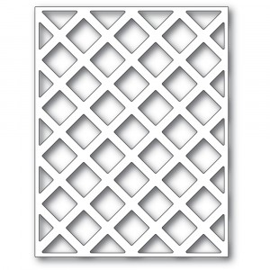Poppy Stamps Stanzschablone - Lattice Plate