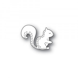 Poppy Stamps Stanzschablone - Whittle Forest Squirrel