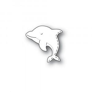 Poppy Stamps Stanzschablone - Whittle Dolphin