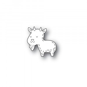 Poppy Stamps Stanzschablone - Whittle Goat
