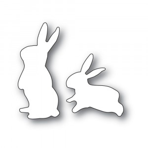 Poppy Stamps Stanzschablone - Spring Bunnies
