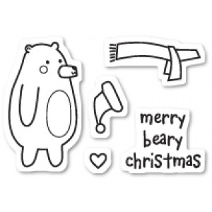 Poppy Stamps Stempel-Set - Beary Christmas
