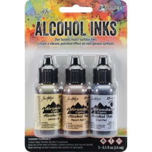 Adirondack Alcohol Inks - 3er Set Wildflowers