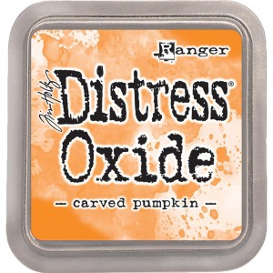 Ranger Distress Oxide Stempelkissen - Carved Pumpkin