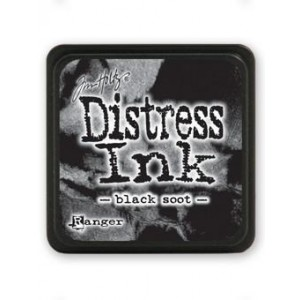 Ranger Distress Mini Stempelkissen - Black Soot