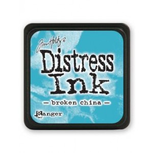 Ranger Distress Mini Stempelkissen - Broken China