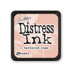 Ranger Distress Mini Stempelkissen - Tattered Rose
