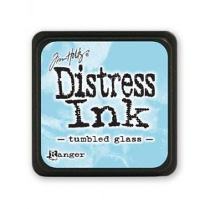 Ranger Distress Mini Stempelkissen - Tumbled Glass