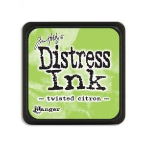 Ranger Distress Mini Stempelkissen - Twisted Citron
