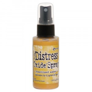 Ranger Distress Oxide Spray - Fossilized Amber