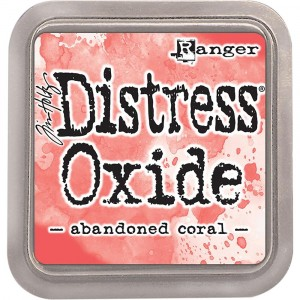 Ranger Distress Oxide Stempelkissen - Abandoned Coral