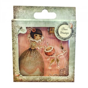 Santoro Clear Stamps - Mirabelle Collection - Curiosity
