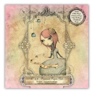 Santoro Mirabelle Collection - Santoro 6x6 Paper Pad