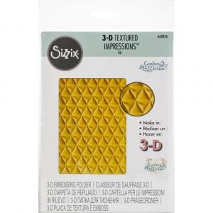 Sizzix 3D Textured Impressions Prägeschablone - Pineapple