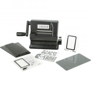 Sizzix Sidekick Starter Kit von Tim Holtz Black