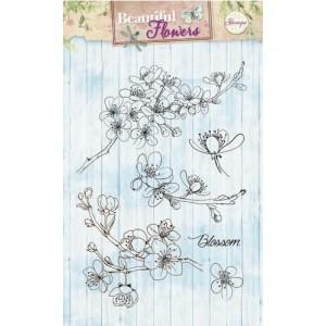 Studio Light Clear Stamps - Kirschblüten