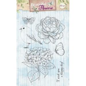 Studio Light Clear Stamps - Frühlingsblüten