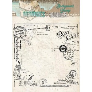 Studio Light Clear Stamps 14x14 - Memories of Summer Nr. 292