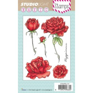 Studio Light Clear Stamps - Rosen