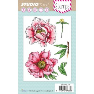 Studio Light Clear Stamps - Pfingstrose