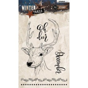 Studio Light Clear Stamps A6 - Winter Trails Nr. 302