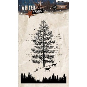 Studio Light Clear Stamps A6 - Winter Trails Nr. 303
