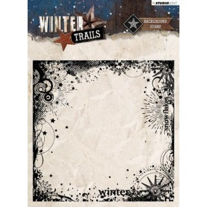 Studio Light Clear Stamps 14x14 - Winter Trails Nr. 305