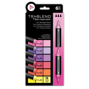 Spectrum Noir TriBlend Markers - Floral Blends