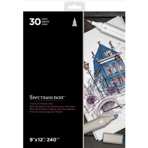 "Spectrum Noir 9x12"" Premium Marker Paper Pad"
