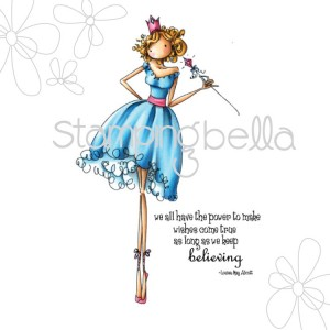 Stamping Bella Cling Stamps - Uptown Girl Faith The Fairy